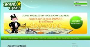 jeu de grattage gratuit instantané grand games-Les tickets de grattage gratuit